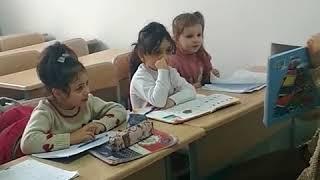 Урок Русского языка у дошкольников старшей группы