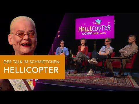 HELLICOPTER mit Hella von Sinnen, Ralf König, Helene Bockhorst - COMICtalk Spezial