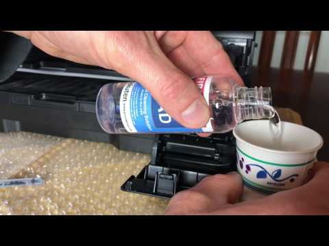 Inkjet Printer Cleaning - The ekuten cleaning kit really works!