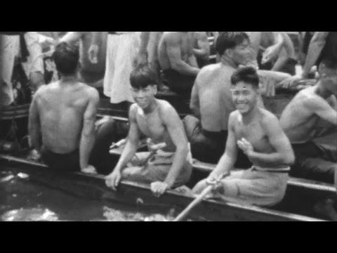 Dragon Boat Racing Hong Kong (c.1937) - China on Film | BFI National Archive