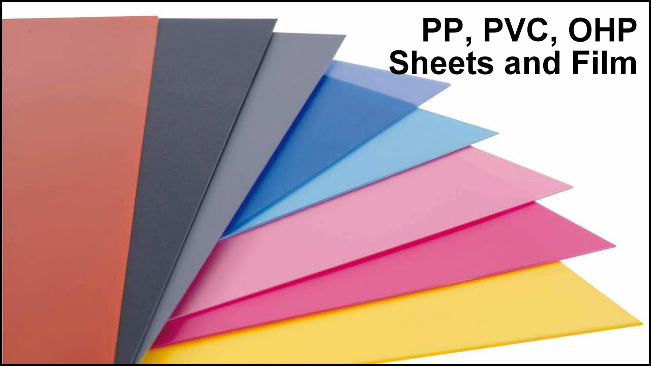 Pp Pvc Ohp Sheets For Use In Printing Advertising