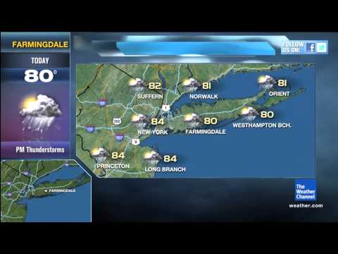 Local on the 8's: Hurricane Irene On Forecast 8-25-11 10:28AM