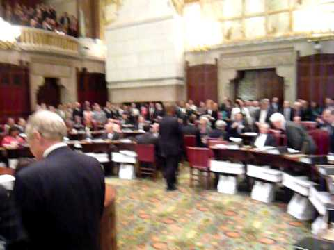 Dueling Sessions of the New York State Senate