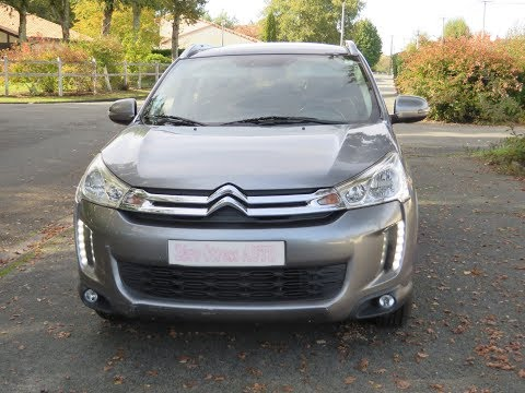 Citroen C4 AirCross 2014 HDI Collection Toit Panoramique Skyview Zerostressauto