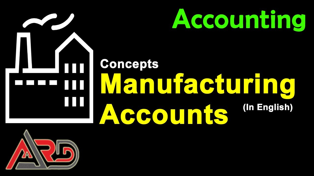 Download Manufacturing Accounts - Income Statement - Balance Sheet - Trading Account | English