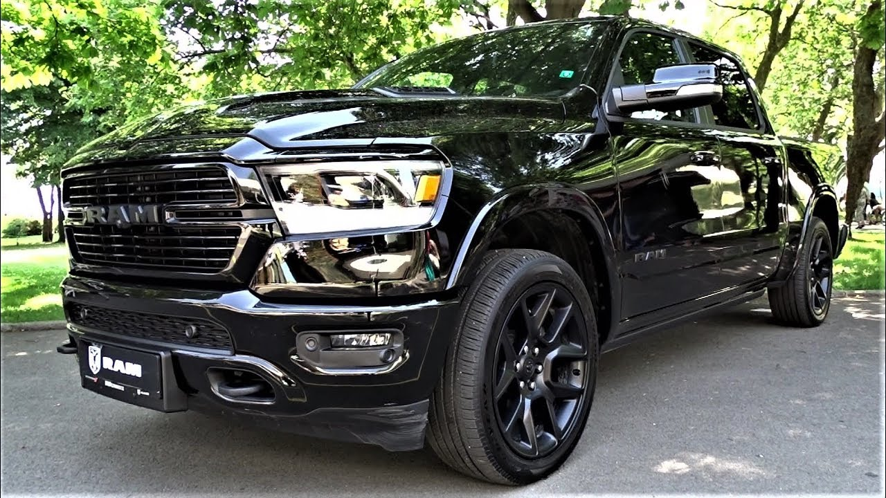 2021 Dodge RAM 1500 Laramie - Black Diamond Pickup Truck ...