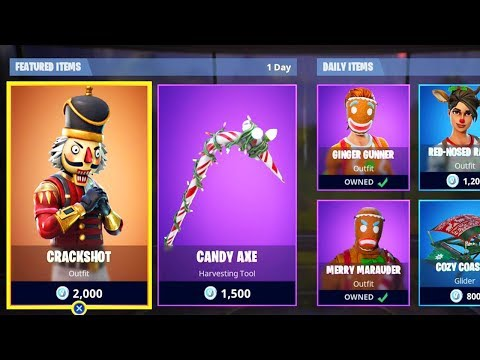 *NEW* CHRISTMAS SKINS in Fortnite! Fortnite Item Shop ...