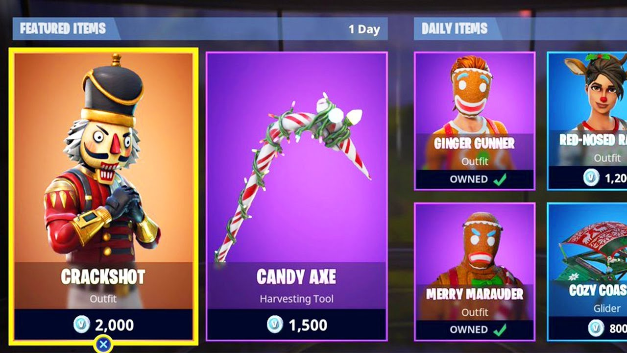 All Christmas Skins Fortnite.New Christmas Skins In Fortnite Fortnite Item Shop Update Fortnite Battle Royale