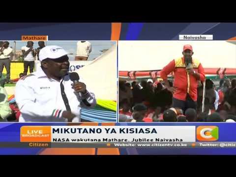 Musalia Mudavadi's speech at NASA's rally in Mathare, Nairobi