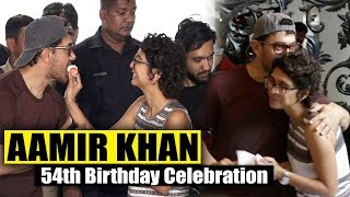 Aamir khan 54th Birthday celebration with wife kiran rao Happy Birthday Aamir Khan