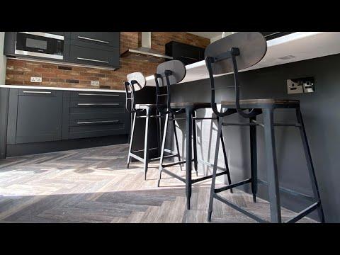 Project Floors Herringbone installation | By Luxury Flooring Manchester