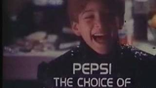 Pepsi commercial with Michael Jackson - A Choice Of A New Generation