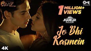 Jo Bhi Kasmein (Jhankar) - Raaz | Udit Narayan & Alka Yagnik | Bipasha Basu & Dino Morea