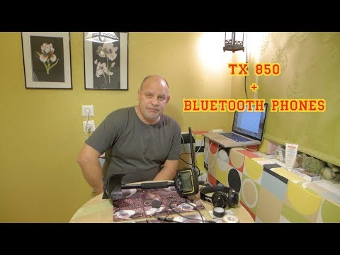 TX 850 And Bluetooth Phones