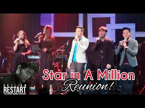 Star In A Million Finalists Season 1 Reunion after 14 years! DK Tijam RESTART Concert!