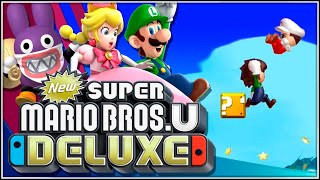 La M de Mejor!!! | 21 | New Super Mario Bros. U Deluxe (New Super Luigi U) thumbnail