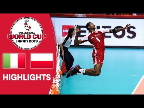 ITALY Vs. POLAND - Highlights | Men's Volleyball World Cup 2019