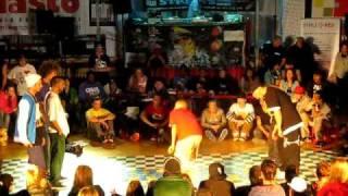 Black Streets Koszalin 2011 - hip-hop 3vs3 1/4 - Lunatix vs Dre10, Pablo, Ryfa