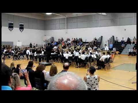 Markham Woods Middle School Symphonic Band November 7, 2019