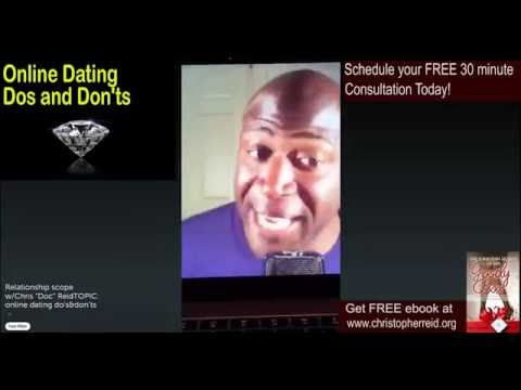 online dating don'ts