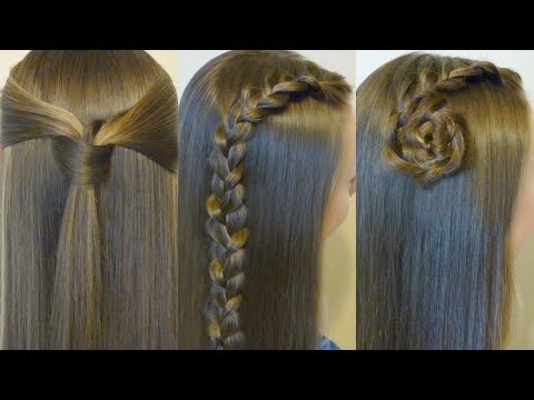 3-back-to-school-hairstyles!-#1-quick-easy-heatless-hair-ideas