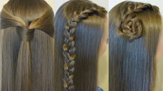 3 Back To School Hairstyles! #1 Quick Easy Heatless Hair Ideas