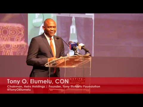 Tony O. Elumelu's speech at the Ivorian National Council of Employers Academy