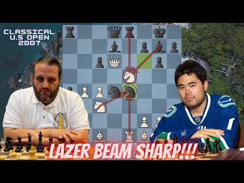 The only classical chess game between GM Ben Finegold and GM Hikaru Nakamura #chess