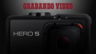 Grabando Video: Go Pro Hero 5 Black grabando a 2,7 K a 60 FPS