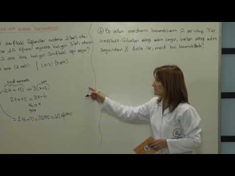 DGS Matematik Problemler