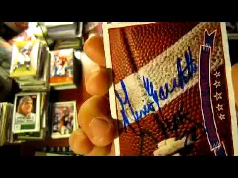 TTM Autograph Return - Gino Marchetti Football HOF