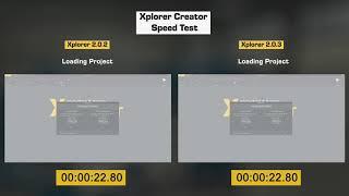 Xplorer 2.0.3 XR Presentation Software | Speed Run and Memory Test Improvements | Modest Tree