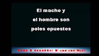 El Macho y el Hombre - Los Tigres del Norte - Karaoke Full