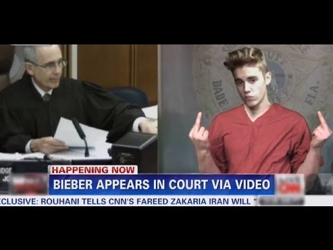 This Might Be How He Was Really Feeling: Justin Bieber's Court Appearance Spoof!