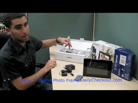 Sony Dpf D70 7 Inch Digital Photo Frame Fits More Than 500 Pictures