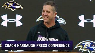 John Harbaugh Talks Titans Matchup   Baltimore Ravens