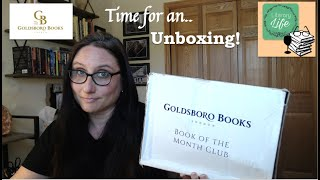 GOLDSBORO BOOK OF THE MONTH CLUB UNBOXING  / May 2020 / Signed First Edition / Plus PreOrder