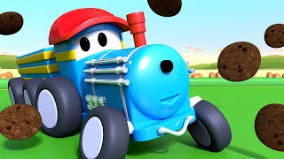 Learn numbers with Trains 3D Video Learn with ted the TRAIN - Learning Cartoons for Children