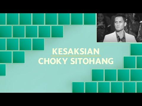 Kesaksian Choky Sitohang
