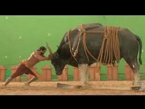 Making of Bahubali VFX graphics and green room.