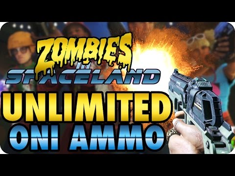 Zombies In Spaceland Glitches: Unlimited Oni Ammo + New! Zombie Pile Ups - Infinite Warfare |