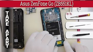 How to disassemble Asus ZenFone Go ZB551KL Take apart Tutorial