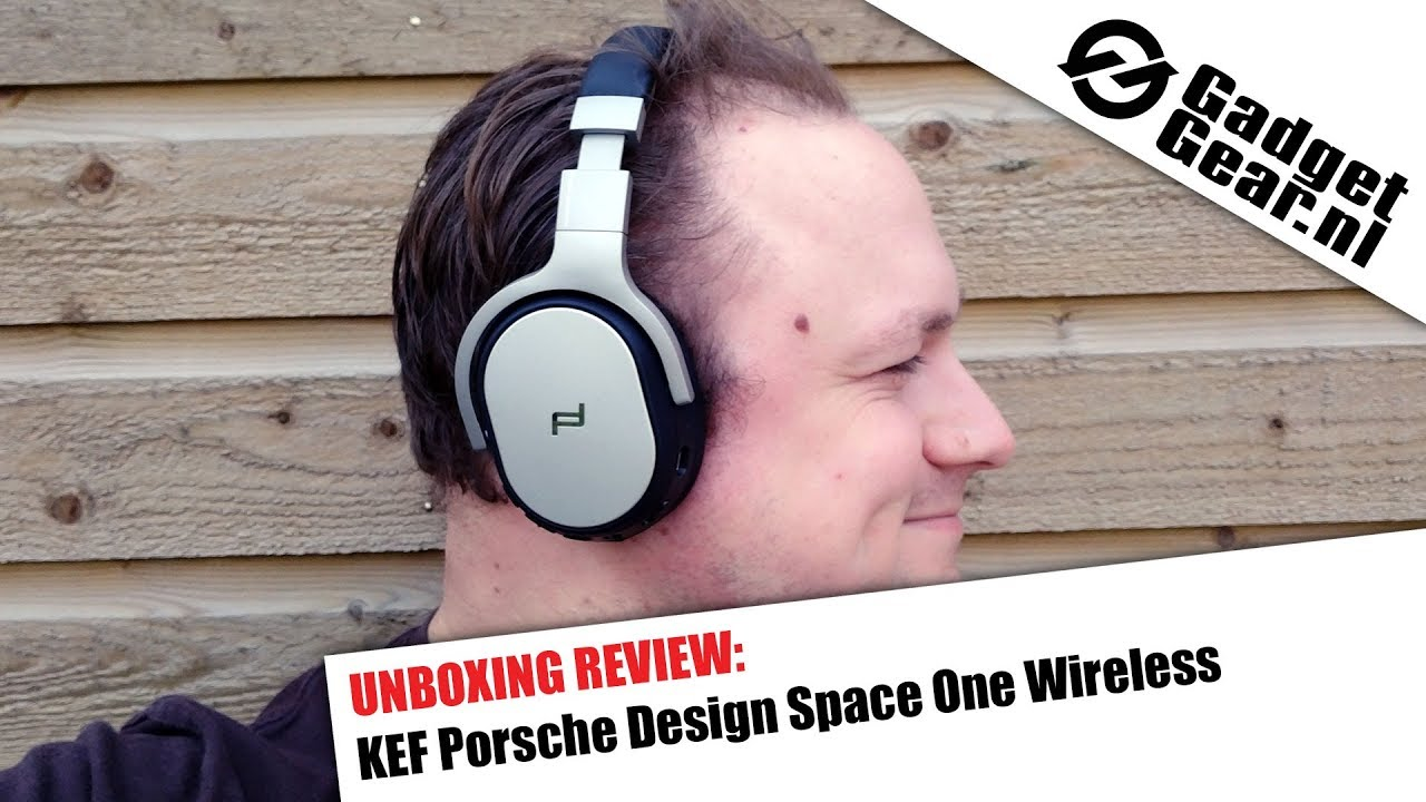 e1fbf79fd32 Unboxing Review: KEF Porsche Design Space One Wireless - YouTube