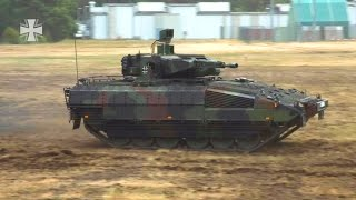 German Armed Forces - Puma Infantry Fighting Vehicle Technology [1080p]