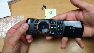 rii Mini i25 Air Mouse Remote controller for Android TV box & PC Unboxing &  Review