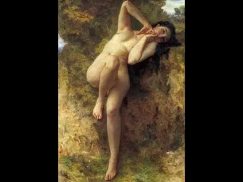 William Adolphe BOUGUEREAU (1825-1905) - Artiste Peintre - Musique:Symphonie N°3 de BRAHMS