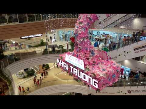 Video 4K - Aeon Mall Binh Tan 06/07/2016 平新郡 Aeon Mall 日本超市