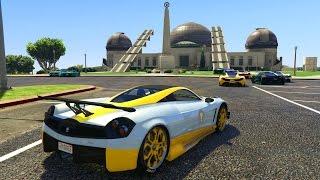 SALTOS BESTIALES! - CARRERA GTA V ONLINE - GTA 5 ONLINE