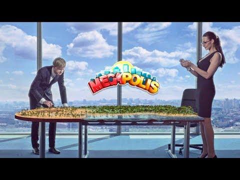 Лучшая мобильная игра в России. Мегаполис.