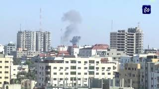 استشهاد فلسطينيين بقصف قوات الاحتلال في قطاع غزة